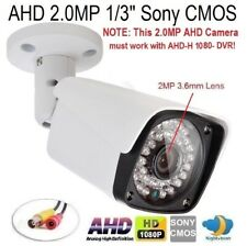 "Ahd 2.0Mp 1/3"" 1080P Waterproof Ir-Cut outdoor Camera 36Irx0.5mm 2Mp 3.6mm Lens"