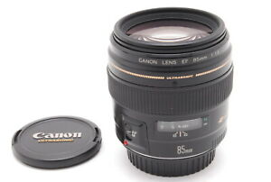 【TOP MINT】Canon EF 85mm f/1.2 L Ultrasonic EF Mount Lens From JAPAN