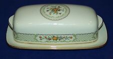 STUNNING NORITAKE FINE CHINA MEDALLION COVERED BUTTER DISH