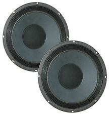 Pair Eminence Legend BP102-4 10 inch Bass Guitar Replacemnt Speaker 4 ohm 200 W