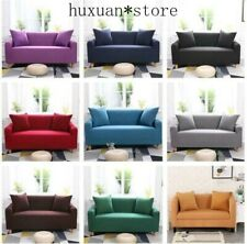 1/2/3/4 Seats Universal Stretch No-Slip Sofa Cover Slipcover Chair Couch Protect