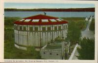 STE. ANNE DE BEAUPRE Quebec Cyclorama. Vintage Postcard