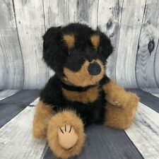 Boyds Collection Doberman Pincer Puppy Dog Plush Stuffed Animal Studded Collar