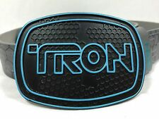 Disney Licensed Tron Legacy Belt With Limited Edition Belt Buckle Size 40