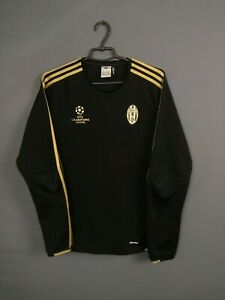 Juventus Sweater Pullover Size MEDIUM Mens Sweatshirt Soccer Adidas S19523 ig93