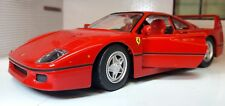 1 24 Ferrari F40 Red Bburago Race & Play