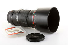 Objectif Canon EF 200mm 1:2.8 L USM II pour EOS 700D 80D 7D 5D 1Ds 1D (2,8)