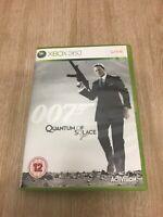 XBOX 360 ** James Bond 007 ** QUANTUM OF SOLACE **