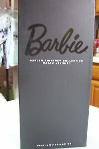 Barbie Harlem Theatre Collection Madame LaVinia Gold Label Collection NRFB