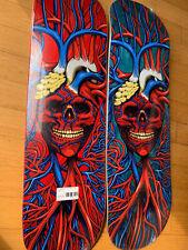 """StrangeLove Skateboards Heart Skull 8.75"""" Sealed, Black, Or Red"""