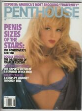 Penthouse August 1991 Penis Sizes of the Stars: The Controversy Stiffens