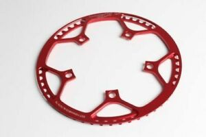 1* Bicycle Round Chainring BCD 130mm Chain Ring 45/47/53/56/58T for Folding Bike