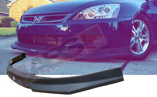 HC1 Carbon Print Style Front Lip for 2006 -07 HONDA ACCORD Coupe NONV6