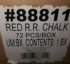Dixon 88811 Railraod Road Chalk Red