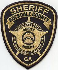ROCKDALE COUNTY GEORGIA GA SHERIFF POLICE PATCH
