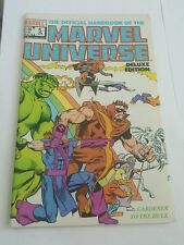 the official handbook of the marvel universe deluxe edition # 5 , 1986