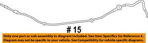 FORD OEM 15-16 Transit-150-Hood Rubber Bumper Cushion BK2Z16758C