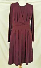 Dickins & Jones Dark Red Dress Size 10/38