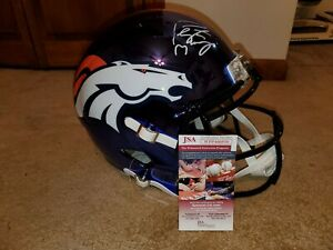 Peyton Manning FS Signed Chrome Replica Denver Helmet