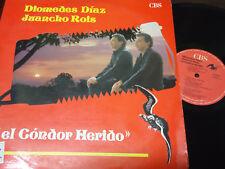 DIOMEDES DIAZ / JUANCHO ROIS - El Condor Herido LP COLOMBIA 1989 LATIN VALLENATO
