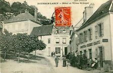 Carte BOURBON LANCY Hôtel et Villas Saint Léger