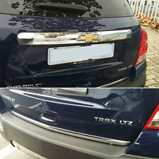 Chrome Rear Trunk Lid Garnish Molding Trim 2P For CHEVY 2013-2019 Trax Gsuv