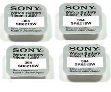 Sony 4 batterien Sony 364 / SR621SW 1,55V