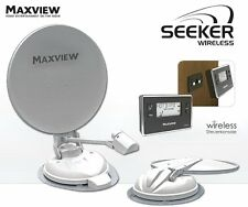 Maxview Seeker Wireless 85cm Vollautomatische Satelliten Antenne WoMo Caravan