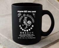 Sriracha Hot Sauce Red And Green Ceramic Mug