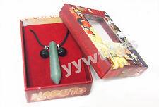 Fifth Hokage Uzumaki Naruto Tsunade Pendant Necklace Green Jade Cosplay Toy New