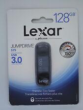 Lexar JumpDrive S75 128GB USB 3.0 Flash Drive+Free premium lanyard