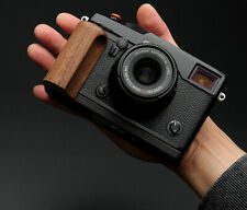 Natural Walnut Wooden Hand Grip Holder L Pate for Fujifilm Fuji X-PRO2 Camera