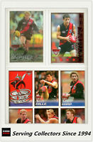 2005 Herald Sun AFL Trading Cards MASTER TEAM CARD COLLECTION-ESSENDON