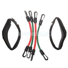 Resistance Tubes Bands Taekwondo Workout Speed Power Leg Strength Training