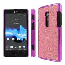 for Sony Xperia Ion 28I Light Pink Slim Fit Sparkling Glitter Glam Case Cover
