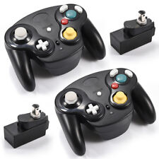 2 X 2.4G Nintendo GameCube WaveBird Controller + Receiver For Gamecube NGC