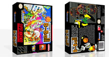 Looney Tunes B-Ball SNES Replacement Game Case Box + Cover Art work (No Game)