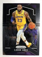 2019-20 Panini Prizm Lebron James #129 Los Angeles Lakers