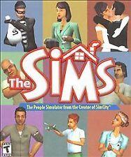 The Sims PC CD-ROM Game 2000 Complete In Big Box Original Simulator Maxis