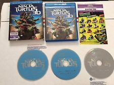 Teenage Mutant Ninja Turtles (Blu-ray/DVD, 2014, 3D)