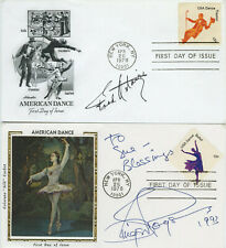 Autographed First Day of Issue Stamp Dance 1978 Fred Astaire Ginger Rogers