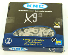 KMC X9 Silver/Black 9-Speed Chain 6.6mm