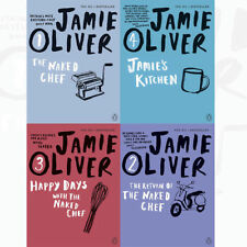 Brand New Jamie Oliver Collection 4 Books Set,Book 1,2,3 & 4 Jamie's Kitchen