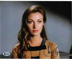 "JANE SEYMOUR ""SERINA"" BATTLESTAR GALACTICA HAND SIGNED 8X10 BAS COA Z98255"