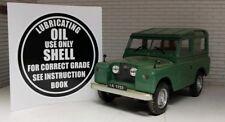 Land Rover Serie 1 2 2a AC Gehäuse Öleinfülldeckel Etiketten Aufkleber