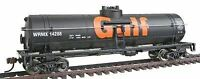 WALTHERS TRAINLINE HO SCALE 40' TANK CAR GULF | BN | 931-1612