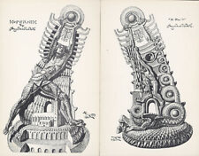 KOPERNICK AND KRAK MONUMENT prints published by Stanislav Szukalski in 1973.