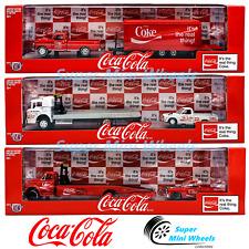 M2 Machines 1:64 Auto-Haulers Coca-Cola Release 56000-TW02 3 Pcs Set 2020 New