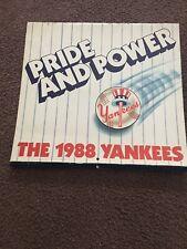 1988 NY Yankees Calendar