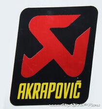 AKRAPOVIC EXHAUST SILENCER LOGO BADGE STICKER HIGH TEMP RESISTANT RACING BIKE